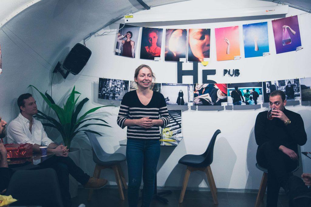 Volom Sára, Photon alapító előadása és fotózás