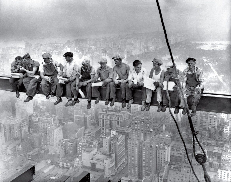 Lunch Atop a Skyscraper - Ismeretlen, 1932