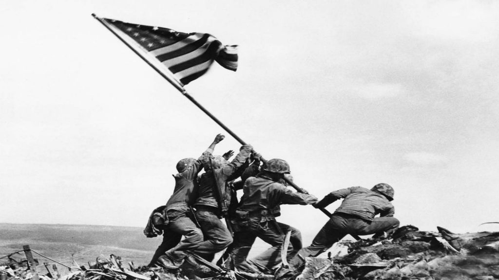 Flag Raising on Iwo Jima - Joe Rosenthal, 1945