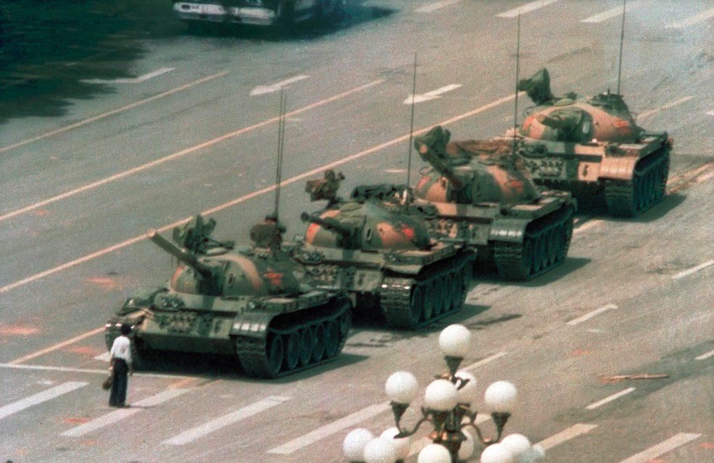 Tank Man - Jeff Widener, 1989