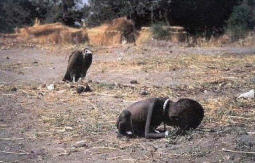 Starving Child and Vulture - Kevin Carter, 1993