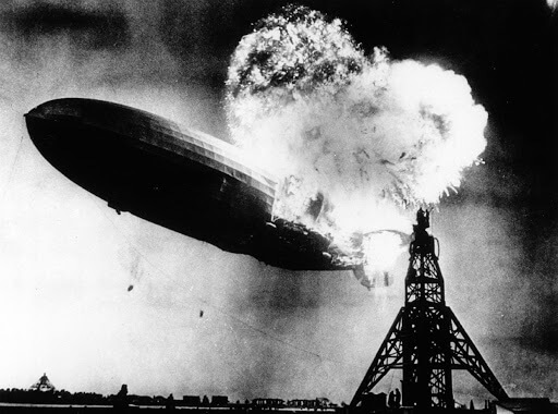 The Hindenburg Disaster - Sam Shere, 1937