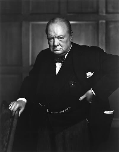 Winston Churchill - Yousuf Karsh, 1941
