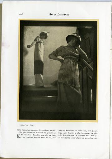 Edward Steichen, Art et Décoration magazin 1911. április