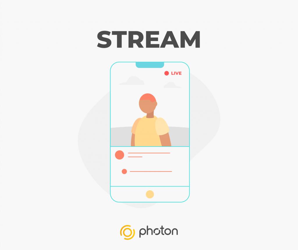 Photon - stream